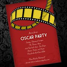 Free Dinner Invitation Templates Printable Enchanting Oscar Party Invitation Template Download Print