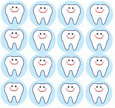 Teeth Cleaning Sticker Chart Mini Brush Your Teeth Stickers