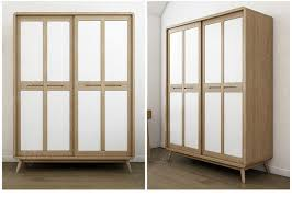 american stylehotel room wardrobe sliding door with glass door wooden door