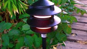 Malibu Pagoda Lights Total Lighting Supply Malibu Led Pagoda Fixture