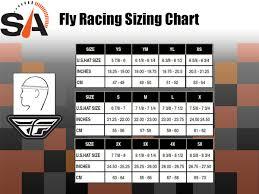 Fly Helmet Size Chart Fly Racing Kinetic Rockstar Helmet Matte Grey