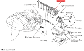 1996 toyota camry my camshaft position sensor located diagram