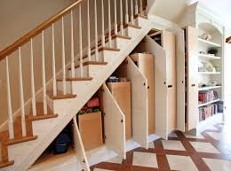 Image of: Storage Under Basement Stairs