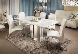 crystal dining suite with miranda chairs