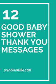 Thank You Messages For Baby Shower Gifts Thank You Notes Words To Write In Baby Shower Card