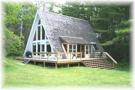 Pictures of Cute Little a Frame Houses : Shingled A Frame House Two  Vertical Walls To