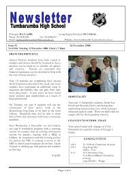 Newsletter Format Examples 17 Awesome High School Newsletter Templates Images