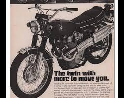 vintage honda motorcycle ads. Brilliant Vintage Vintage Print Ad 1960s  Honda 450 Scrambler Motorcycle Automobile Car Wall  Art Decor 85 For Ads 5