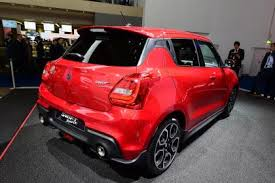 2018 suzuki cars. perfect suzuki suzuki swift sport  frankfurt rear and 2018 suzuki cars