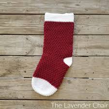 Crochet Stocking Pattern Beauteous Brickwork Stocking Crochet Pattern The Lavender Chair