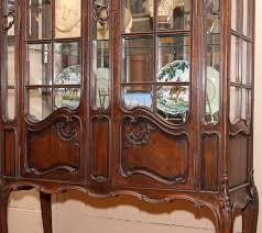 large china cabinet. Simple Large 19th Century French Louis XV Style China Cabinet Carved Solid Quarter Sawn  Oak Interior For Large China Cabinet C
