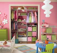 Kids Small Bedrooms Bedroom Awesome Pink Bright Colore Kids Closet Ideas For Small