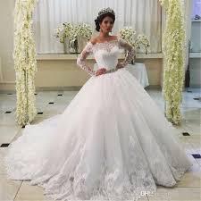 wedding dress 2017 high quality vestidos de novia con mangas off