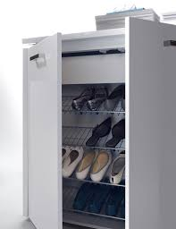 High Gloss Storage Cabinets Luce 2 Door Modern High Gloss Cabinet With Shoe Storage Optional Led