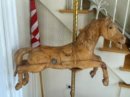 gustav bayol carousel horse circa 1900