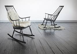 black outdoor rocking chairs high back