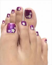 Toe Nail Art Designs 35 Stylish Purple Nail Art Designs For Toe Nails