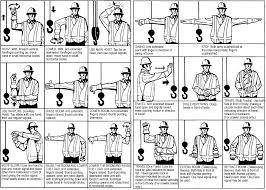 Crane Hand Signal Chart Free Signaling