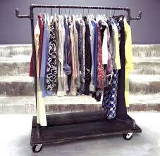 Pipe Clothing Rack Buy With Shelf Diy. Pipe Clothing Rack Tutorial Diy With  Shelf Buy. Steel Pipe Clothing Rack Diy For Sale Industrial.