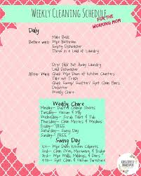 best working mom schedule ideas mom schedule i was actually challenged to write up a weekly cleaning schedule for the working moms after