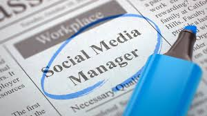 Image result for social media manager
