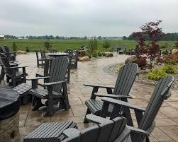 bluegate garden inn. Outdoor Seating At Blue Gate Garden Inn Shipshewana Bluegate