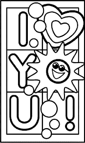Coloring pages i love you. I Love You Coloring Page Crayola Com