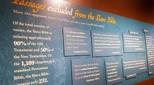 Museum Displays Slave Bible That Leaves Out Freedom