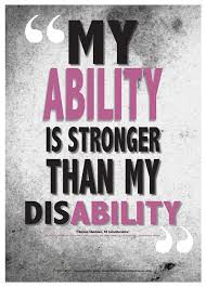 Disability Quotes Interesting Disability Awareness Posters For Kids Poster From Zazzle Com
