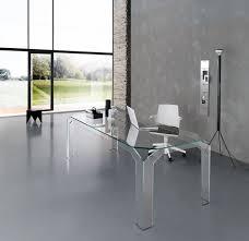 Modern Glass Desks For Home Office 2562Glass Desk Office