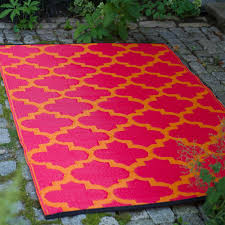fh tangier orange red lifestyle outdoor rugs made from recycled plastic mats dfohome l and rouge mat blue rug small indoor patio of waterproof for