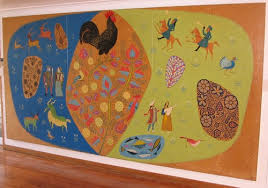 painting on the wallPainting on the wall  Christchurch Art Gallery Te Puna o Waiwhetu