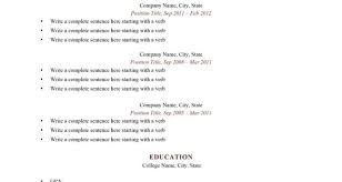 A Good Resume Resume Templates Resume For Study