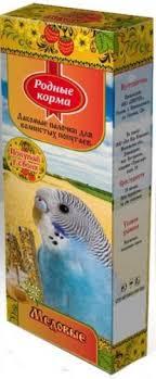 Купить <b>Родные корма зерновая палочка</b> для попугаев 45г х 2шт ...