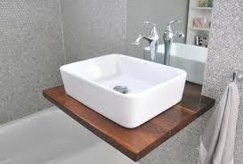 bathroom diy ideas. 8. Wooden Shelf Vanity Bathroom Diy Ideas
