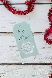 christmas free template handmade snowflake christmas gift tags free template