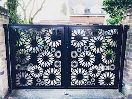 decorative metal gates fences
