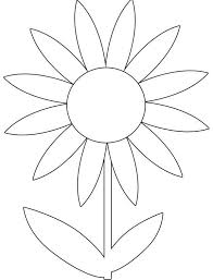 Printable Spring Flowers Colouring Pages Free Blomme Flower