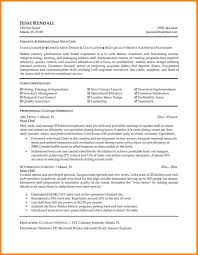 Pastry Chef Resume Example Address Sample And Executive Samples
