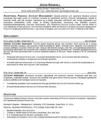 accounts receivables resumes resume of account manager dcbuscharter co
