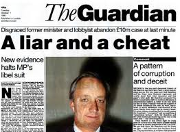 Image result for scandal Christine and Neil Hamilton