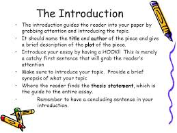 how to write an essay ppt video online  3 the introduction the introduction guides the reader