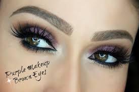 makeup ideas for dark brown eyes purple makeup for brown eyes eye makeup tutorial you