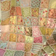 Best Shabby Rag Quilt Products on Wanelo & Rag Quilt - Large Lap Size, Throw, Blanket - Scrappy Patchwork, Shabby Chic Adamdwight.com