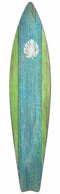 surfboard green wood wall art beach decor coastal decor nautical on tropical themed wall art with nautical wall art decor foter