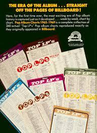 Joel Whitburn Bücher Books Billboard Pop Album Charts 1965