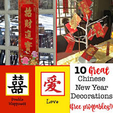 Shop items you love at overstock, with free shipping on everything* and easy returns. 10 Great Ideas For Chinese New Year Decorations With Free Printables Momof6