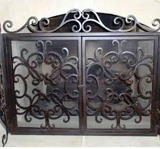 ornamental fireplace screen 503