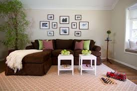 brown sofa with chaise lounge