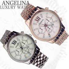 angelina1 rakuten global market 1 x2f 30 new stock 2015 2015 men s watches mens accessories geneva spaniel luxury chronograph simple